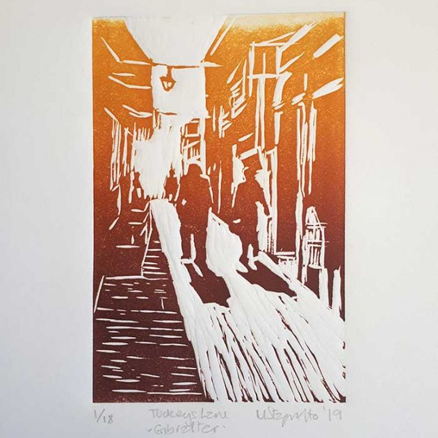 Michele-Stagnetto-linoprint-tuckeyslane-mount