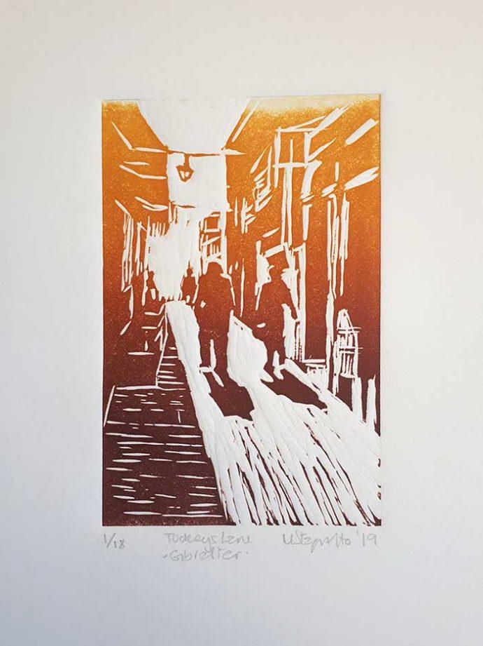 Michele-Stagnetto-linoprint-tuckeyslane-mount
