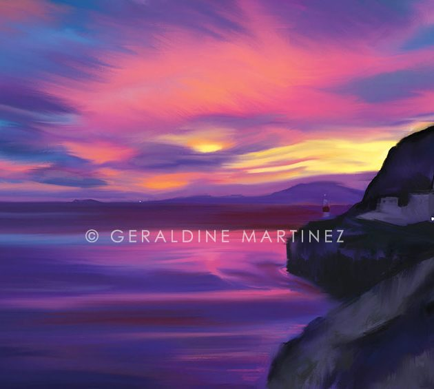 geraldine-martinez-sunset-straits-of-gibraltar