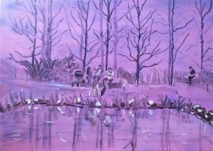 Wanda-Bush-Winter-Sun-(Commonwealth-Park)