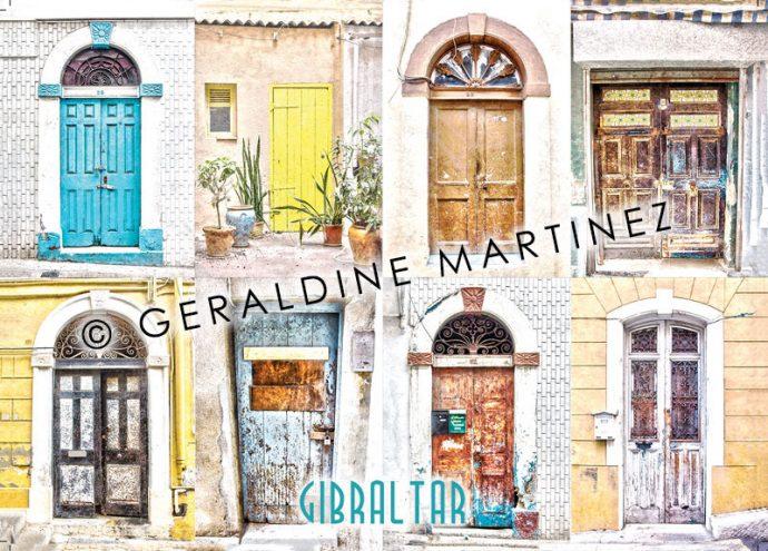 geraldine-martinez-gibraltar-door-postcard1