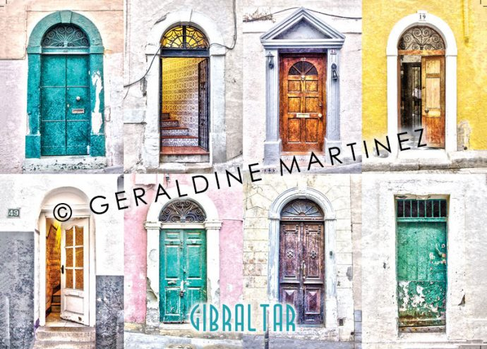 geraldine-martinez-gibraltar-door-postcard2