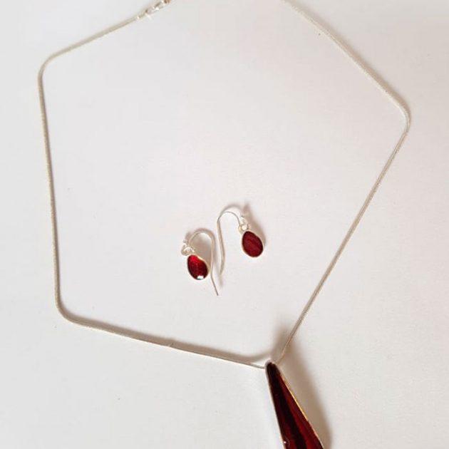 giselle-golt-silver-plated-bracelet-earring